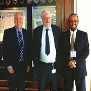 KSU Skills Development official meets with Durham University counterparts