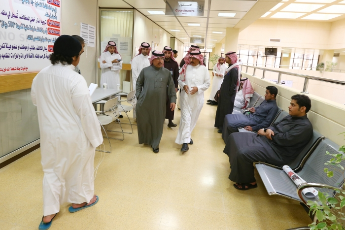 Vice Rector for Graduate Studies and Scientific Research Inspects KSU Colleges
