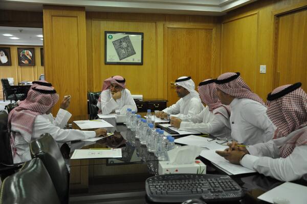 لقاء تعاون مشترك بين كلية الدراسات التطبيقية وخدمة المجتمع ووزارة الشؤون البلدية و القروية