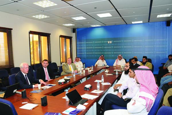 KSU Cyber Security Center Recieves International Delegations