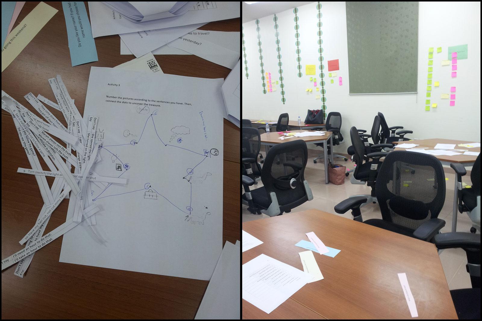 """ورشة عمل بعنوان """"Common Mistakes in English"""" في رحاب كلية الدراسات التطبيقية وخدمة المجتمع شرق الرياض"""