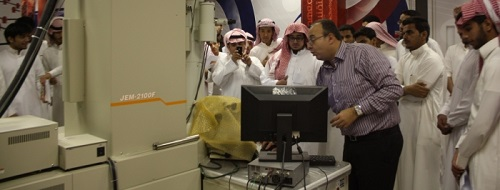 Armed forces and students flock to Nanotechnology hub
