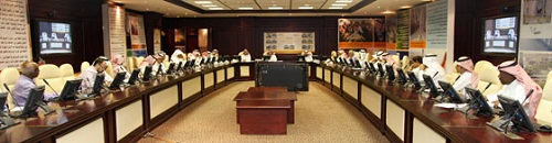 KSU Council of the Rectorate of Development and Quality Meet  for Seventh Time