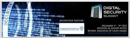 Dr. Alghathbar, Director of CoEIA, a speaker in Riyadh's Digital Security Summit