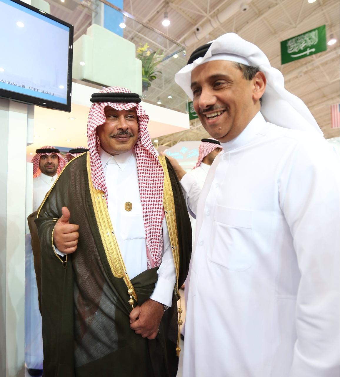 أمير منطقة الباحة يزور جناح الجامعة في المؤتمر والمعرض الدولي للتعليم العالي