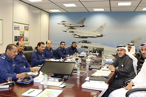 PSATRI receives Royal Saudi Air Force delegation