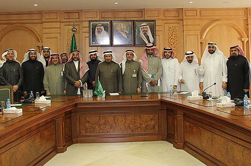 Delegation of KSU's leading medical researchers visits Minister of Health