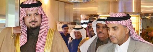 HRH Prince Salman bin Sultan bin Abdulaziz Tours C4I-CAS Lab