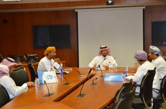 Sultan Qaboos University visits KSU E-learning Deanship