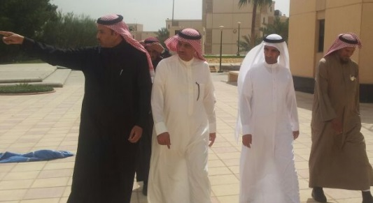 KSU Rector Badran Al-Omar inspects Students' Accommodation