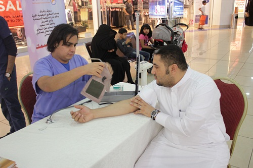 Two KSU student clubs celebrate World Diabetes Day with outreach activities