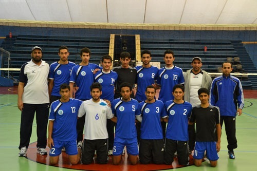 King Saud University'S volleyball team wins again