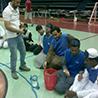 مركز ذوي الاحتياجات الخاصة للطلاب ينظم لقاءً ترفيهياً رياضياً