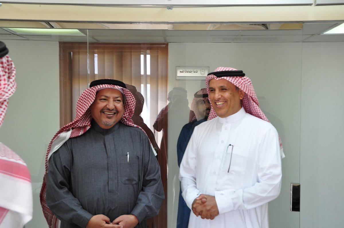 زيارة سعادة وكيل الجامعة للمشاريع