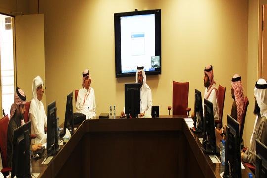 مجلس علوم الرياضة يستقبل وفد عمادة القبول والتسجيل بجامعة الملك سعود