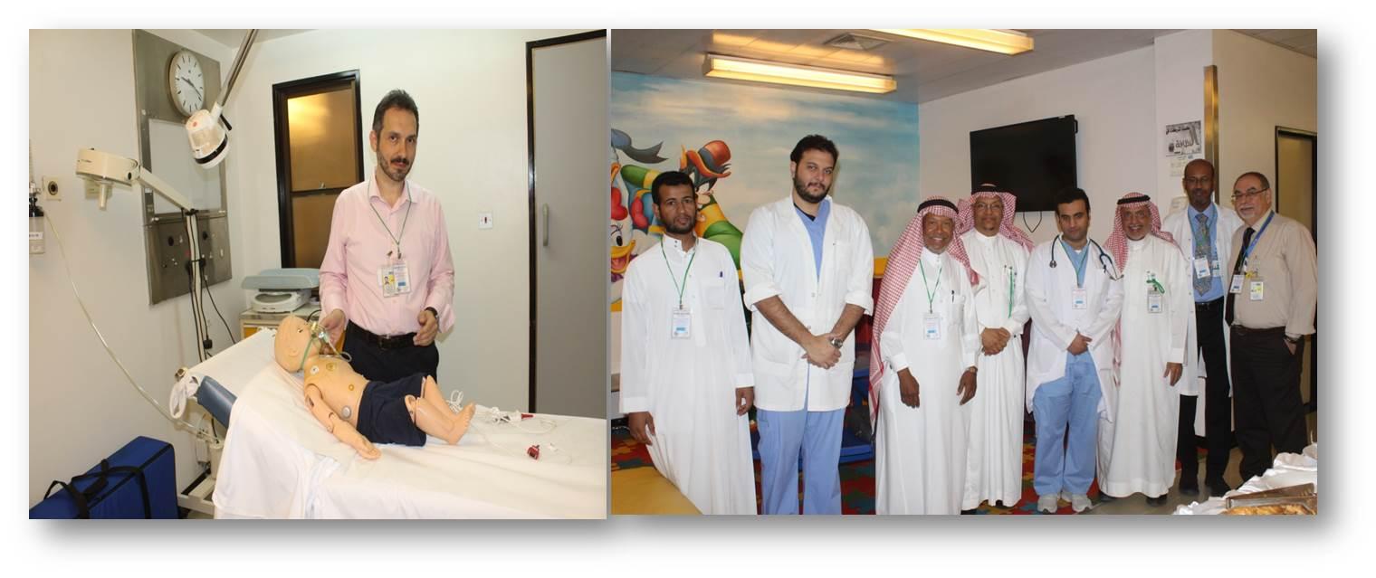 دورة تدريبية لأطباء الأطفال للتحضير لإمتحان الزمالة السعودية والعربية والبريطانية ,,