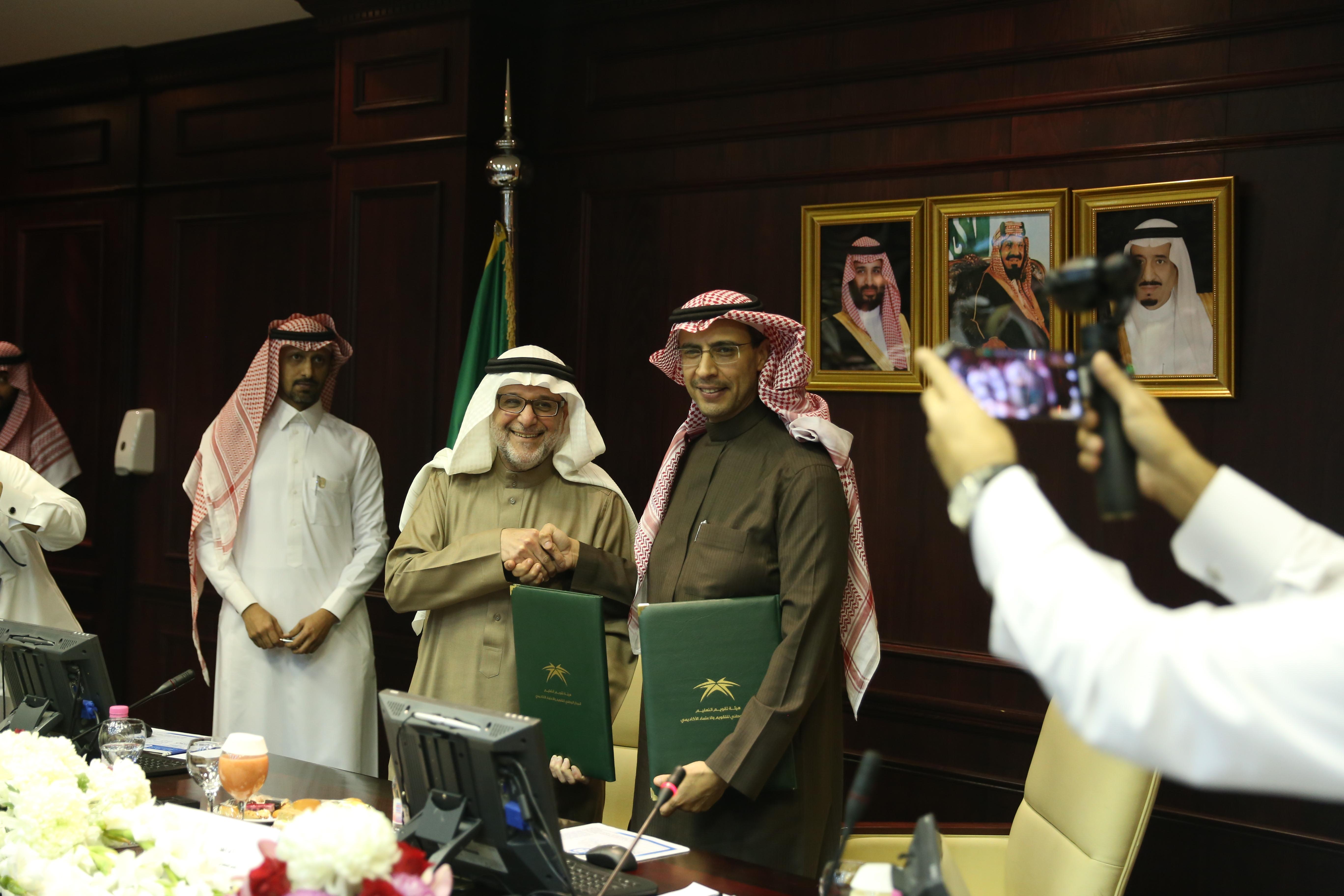 الجامعة توقع اتفاقية البدء في تنفيذ مشاريع الاعتماد البرامجي ل 18 برنامجاً أكاديمياً