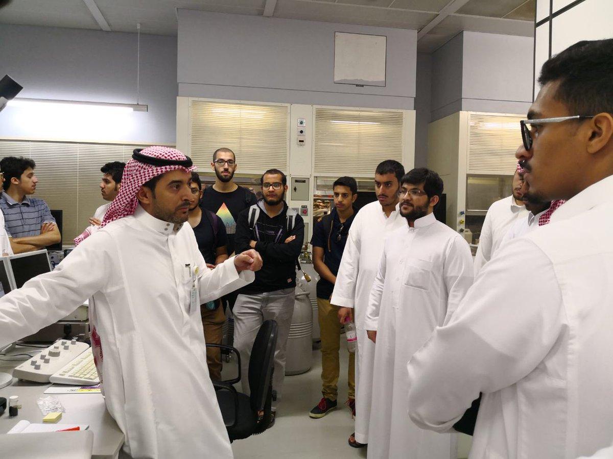 نادي الهندسة الكيميائية يُنظِّم زيارة علمية إلى مدينة   الملك عبدالعزيز للعلوم والتقنية