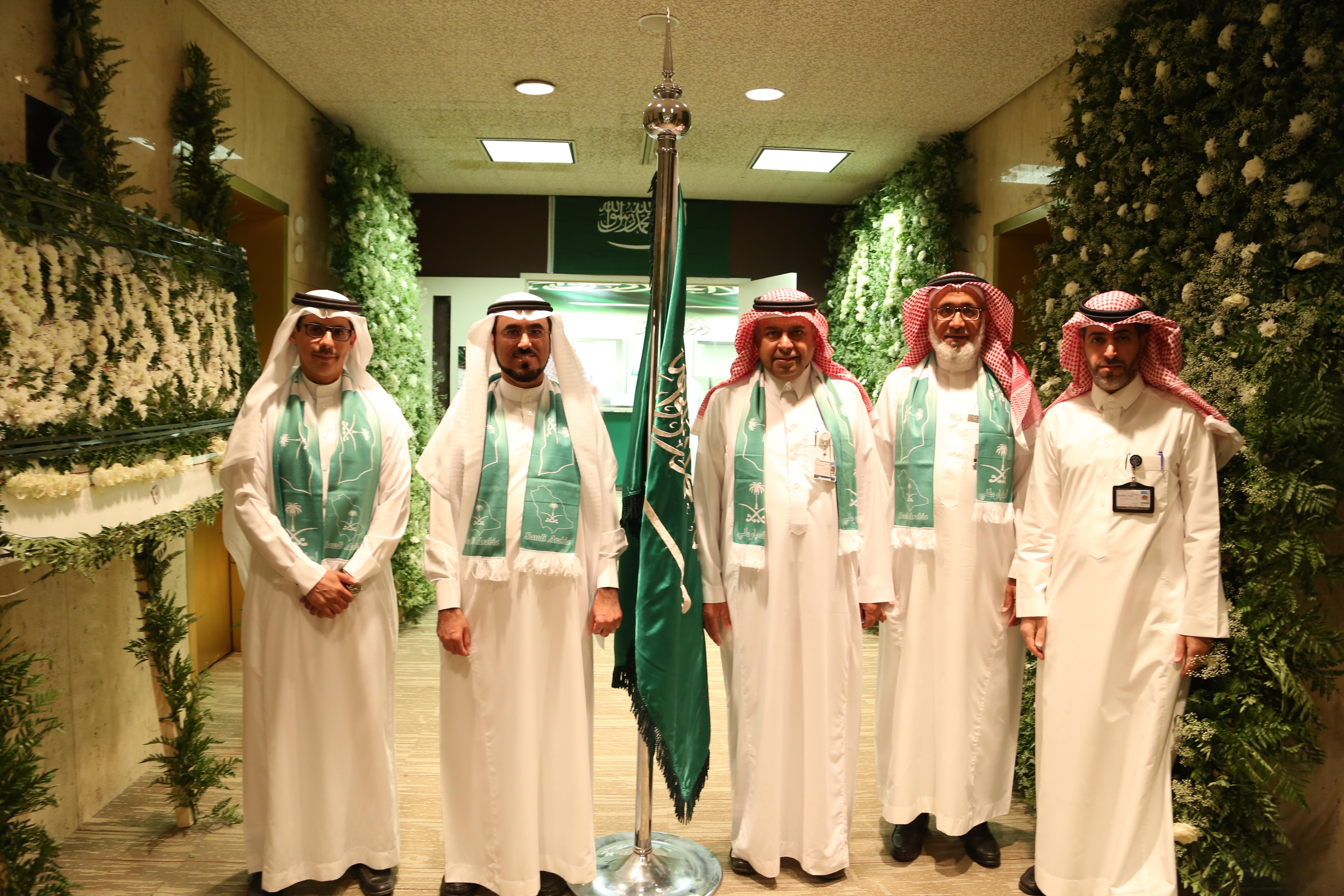 عمادة شؤون التدريس والموظفين تحتفي باليوم الوطني (86) وتكرم ذوي شهداء الواجب