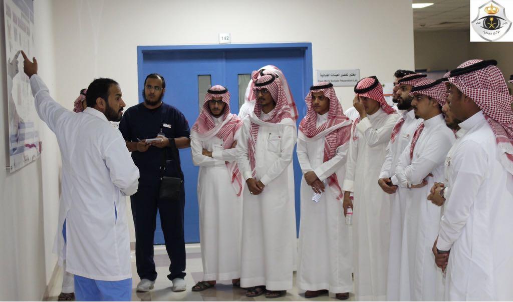 نادي علم النفس يُنظِّم زيارة ميدانية إلى الإدارة العامة للأدلة الجنائية