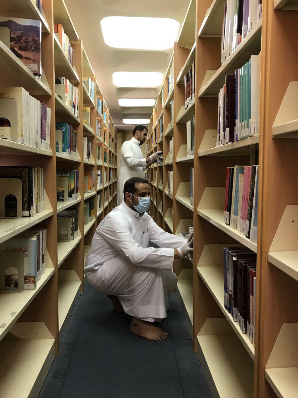 مشروع الجرد في مكتبة كلية الجتمع