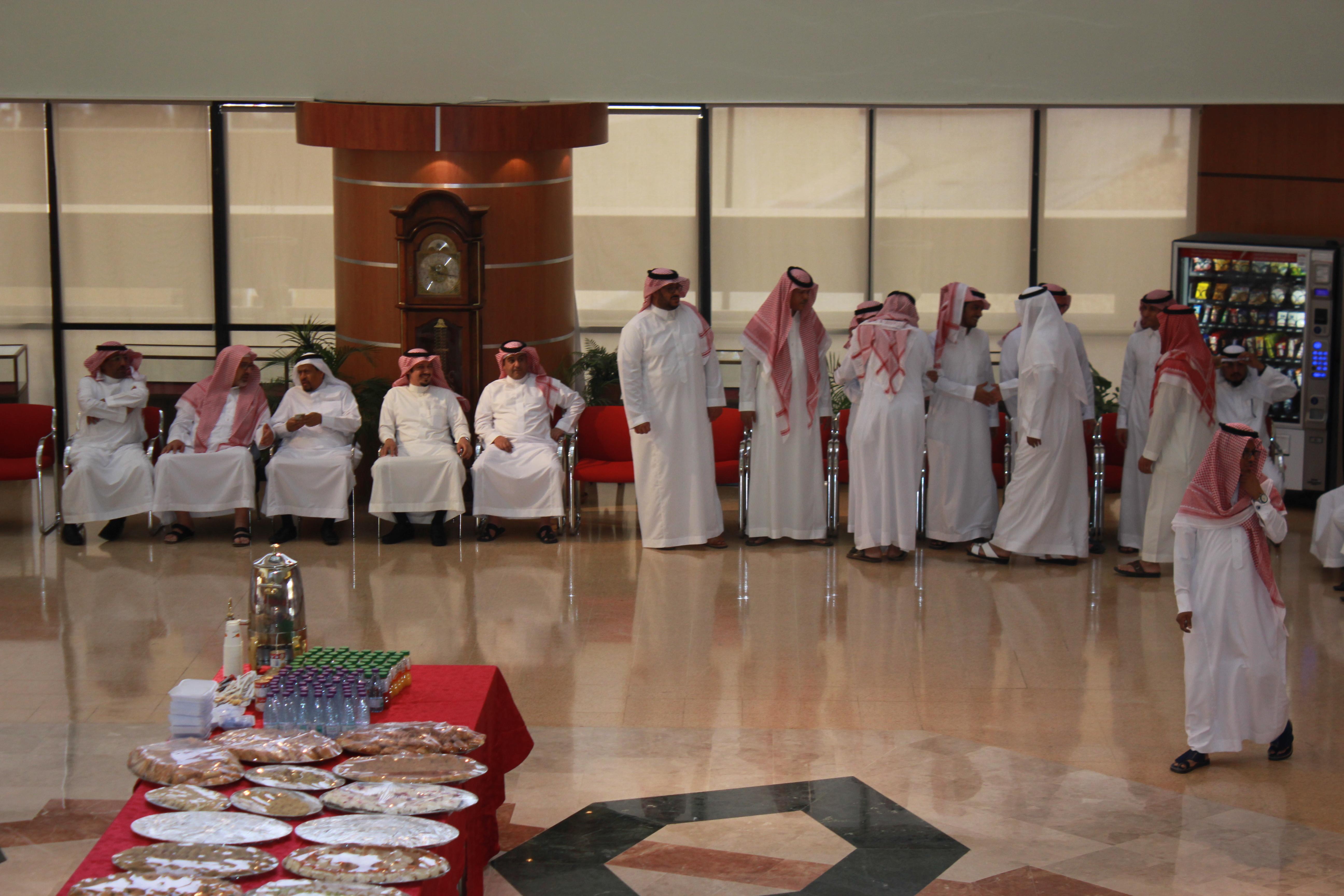 عمادة شؤون المكتبات تقييم حفل المعايدة بمناسبة عيد الفطر المبارك