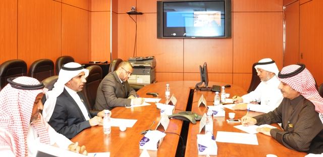 لجنة إنشاء متجر هوية الجامعة تعقد اجتماعها الأول