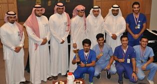كلية العلوم الطبية التطبيقية تقيم الحفل الختامي لأنشطتها