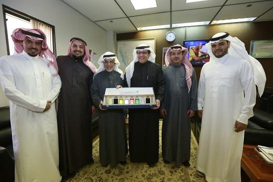 كلية الهندسة تستقبل مدير مصفاة الرياض