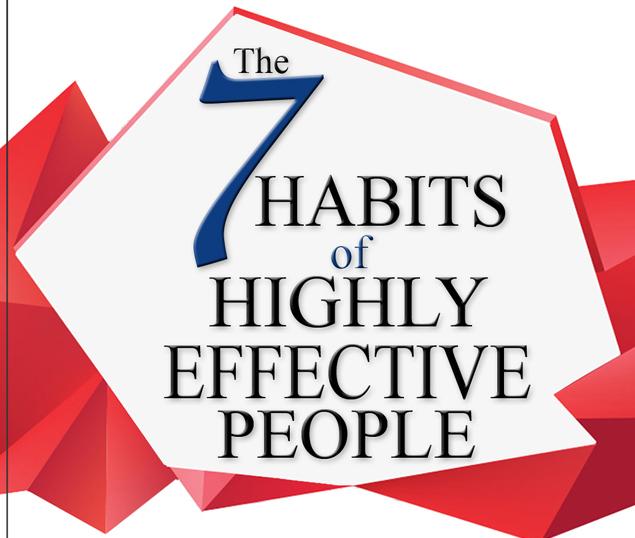 العادات السبع للناس الأكثر فعالية للقيادات الأكاديمية
