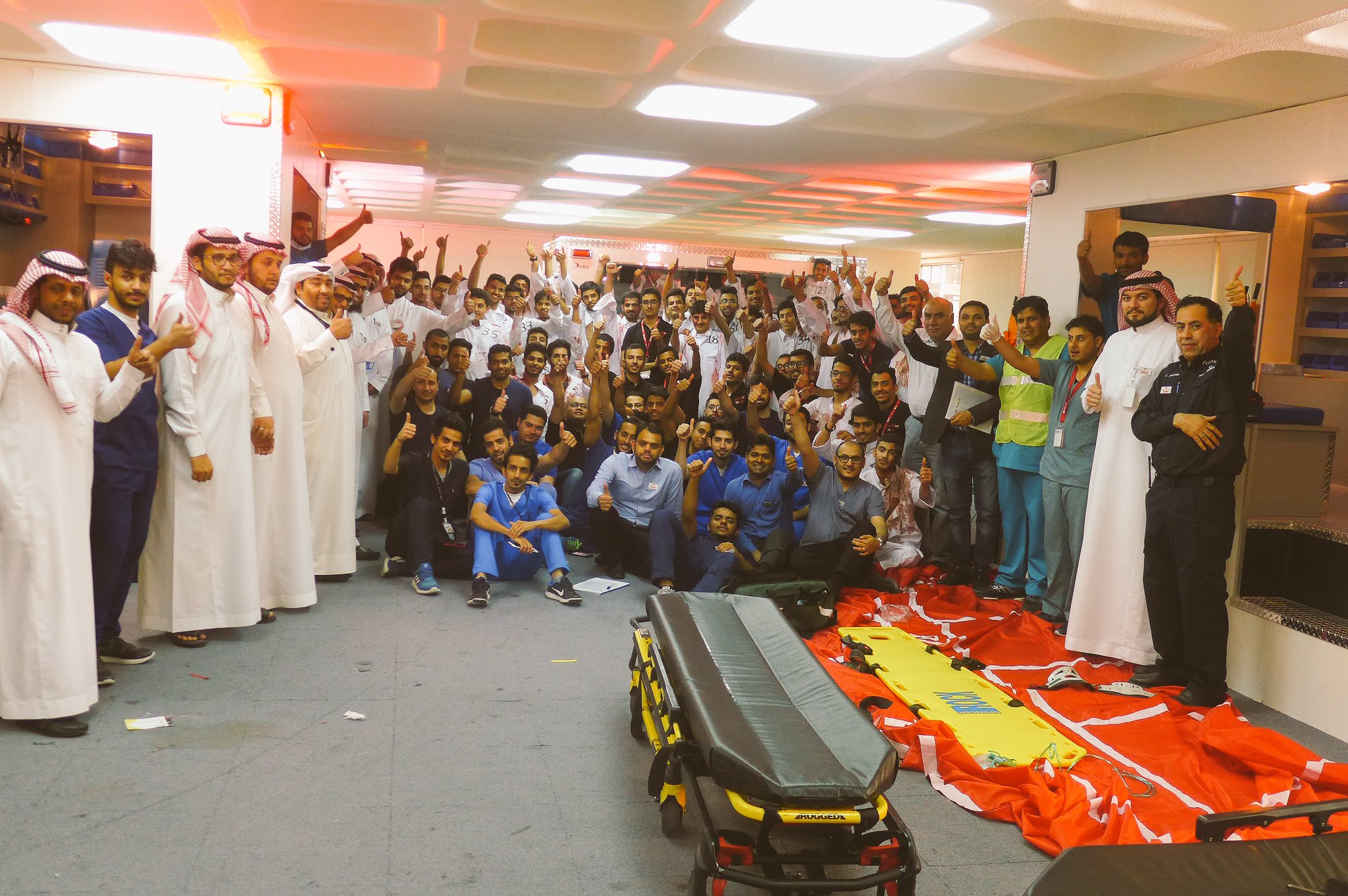 The 4th Emergency Medical Services Students Olympics Event (2017 - 1437/1438H)