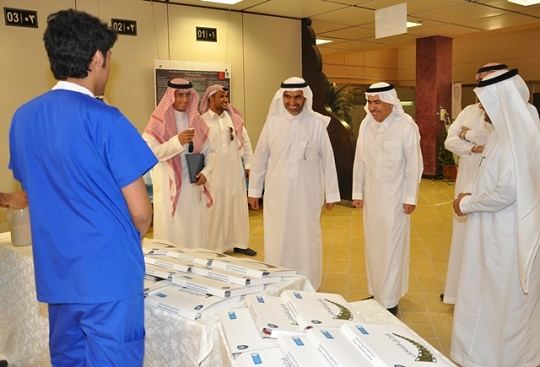 KSU Vice Rector for Educational & Academic Affairs Inspects Applied Medical College