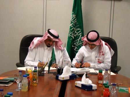 توقيع اتفاقية تعاون بين مركزي الشباب