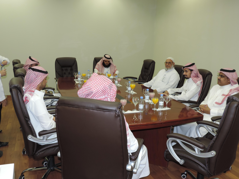 اجتماع رؤساء أقسام صندوق الطلاب