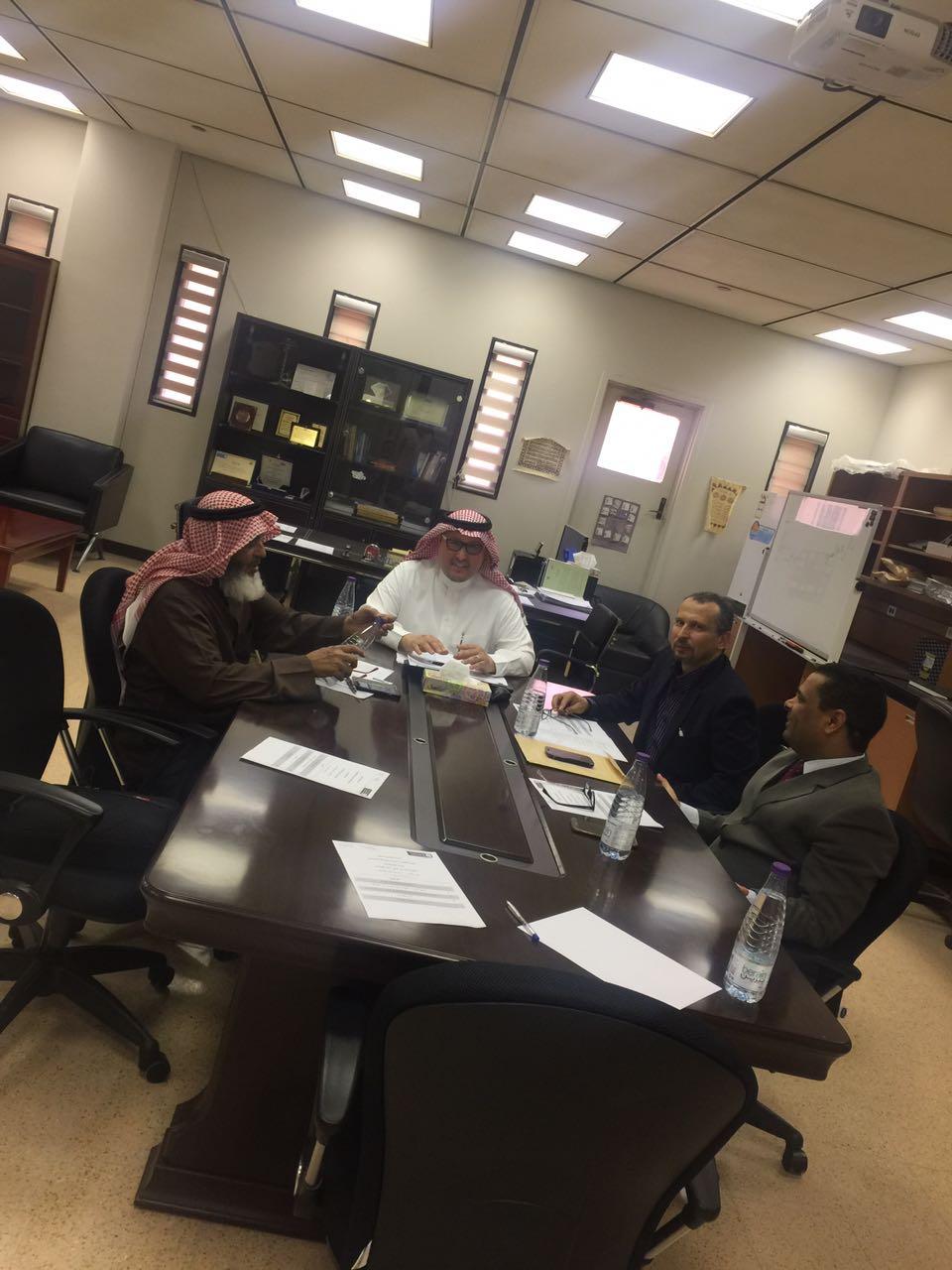 الاجتماع الثاني للجنة العلاقات العامة والشراكة المجتمعية بقسم الجيولوجيا