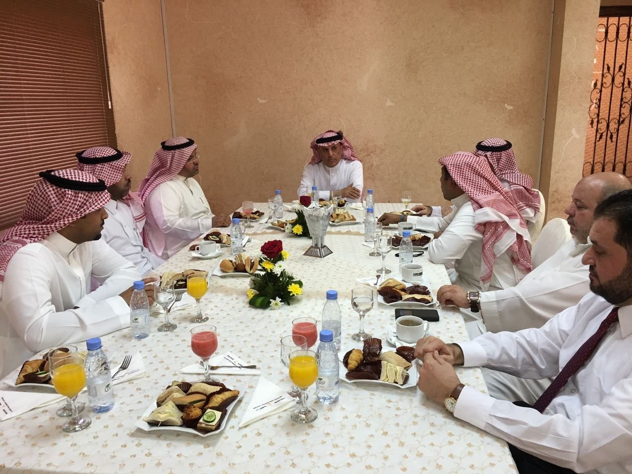 حفل معايدة عيد الأضحى بكلية الدراسات التطبيقية وخدمة المجتمع