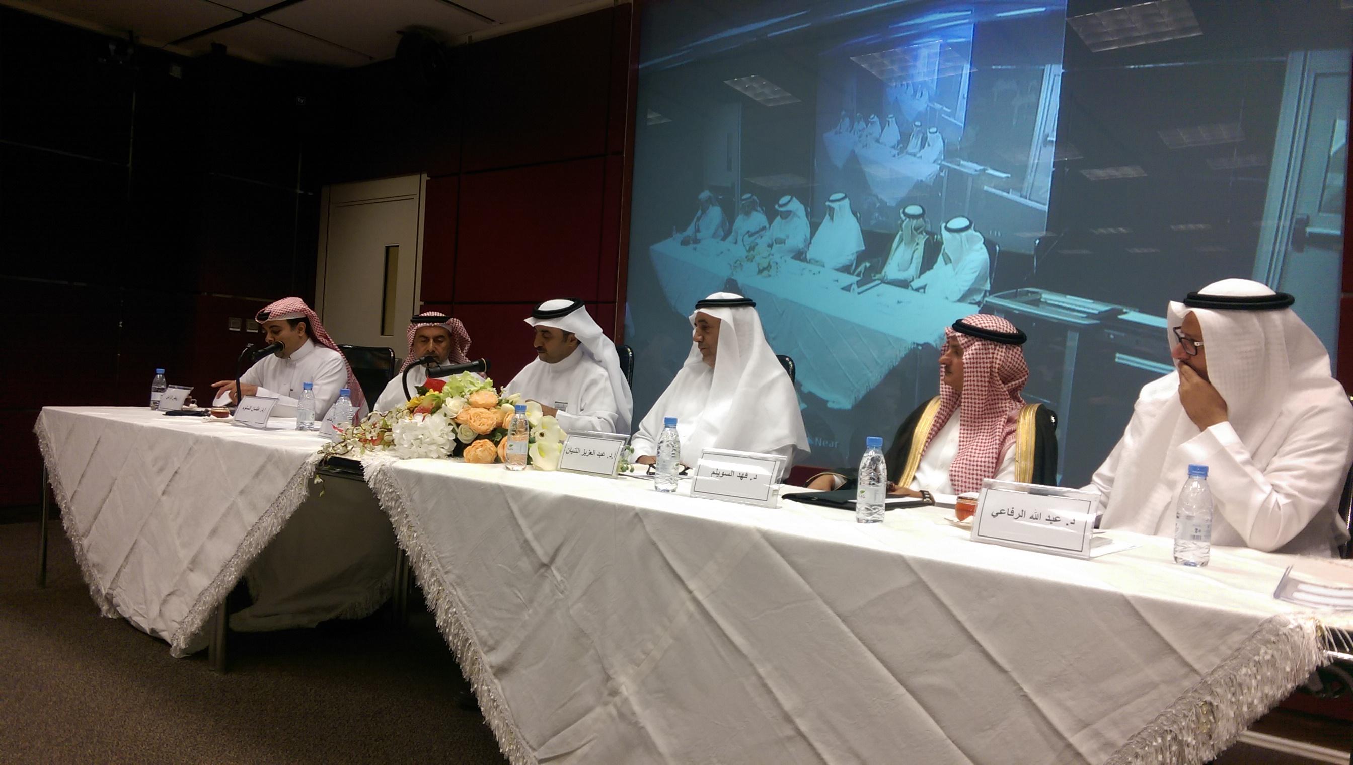 """جلسة حوارية بعنوان """"دعم الطاقات الابداعية"""" ضمن فعاليات مسابقة (طموح ملك لمستقبل وطن)"""