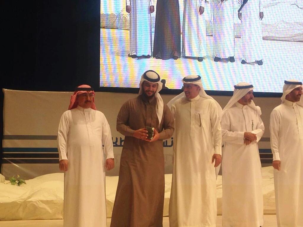 الطالب خالد بن علي الزهراني يحصل على المركز الثاني في اللقاء العلمي السابع