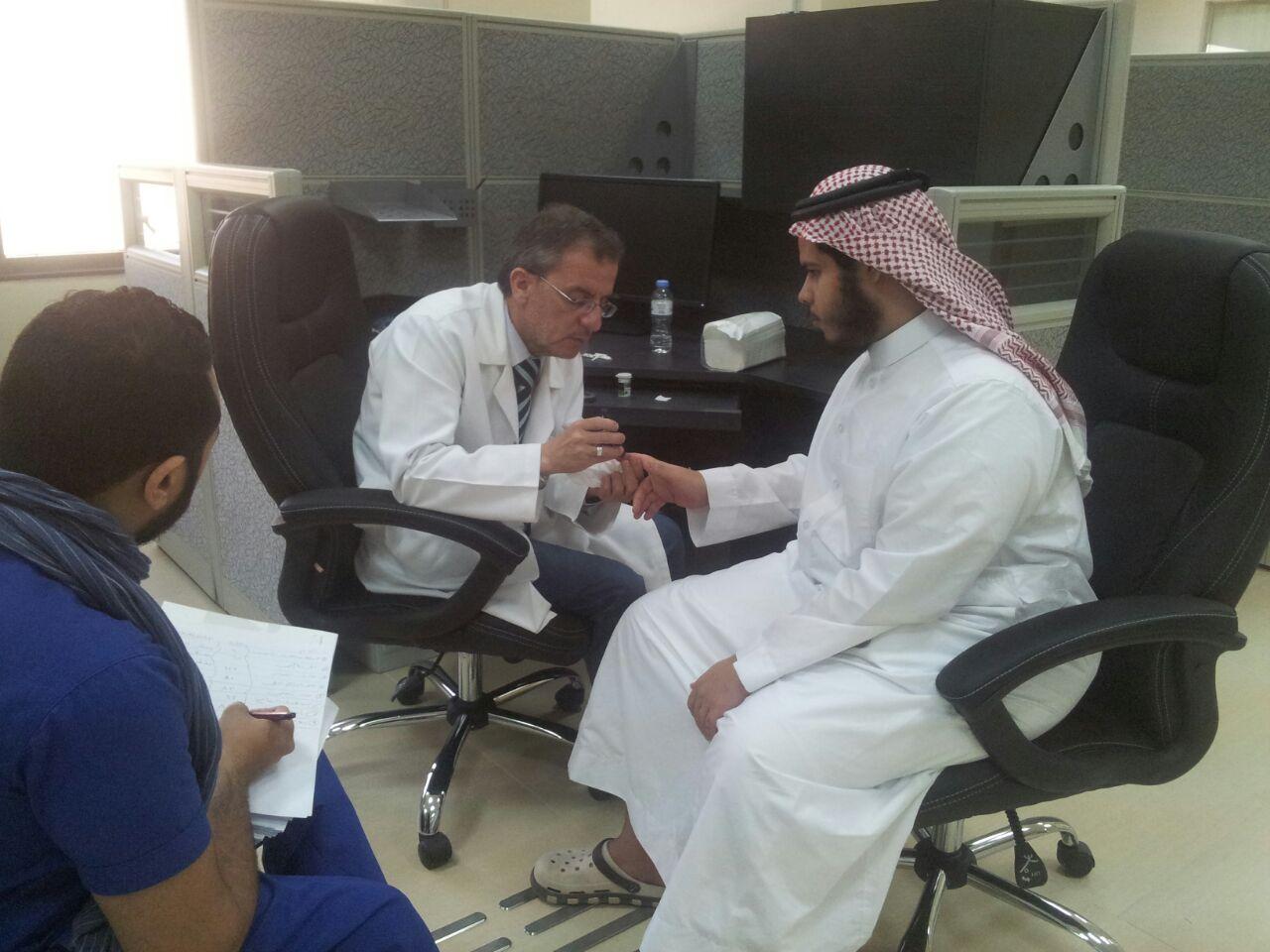 مركز ذوي الاعاقة ينظم برنامج توعوي عن مرض السكر