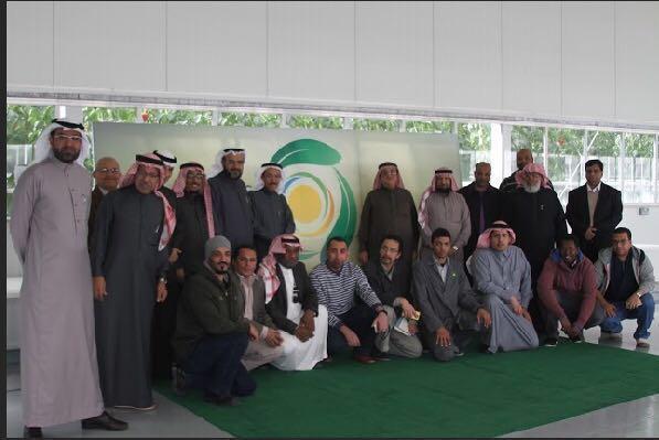 52- وفد من كلية علوم الاغذية والزراعة في زيارة مركز استدامة.
