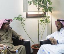 زيارة سعادة مدير إدارة المنح الدراسية في وزارة التعليم لمعهد اللغويات العربية