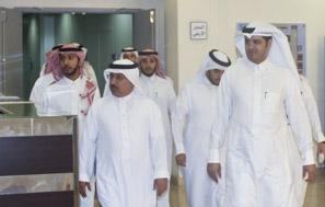 وكيل الجامعة للدراسات العليا والبحث العلمي يزور معهد اللغويات العربية