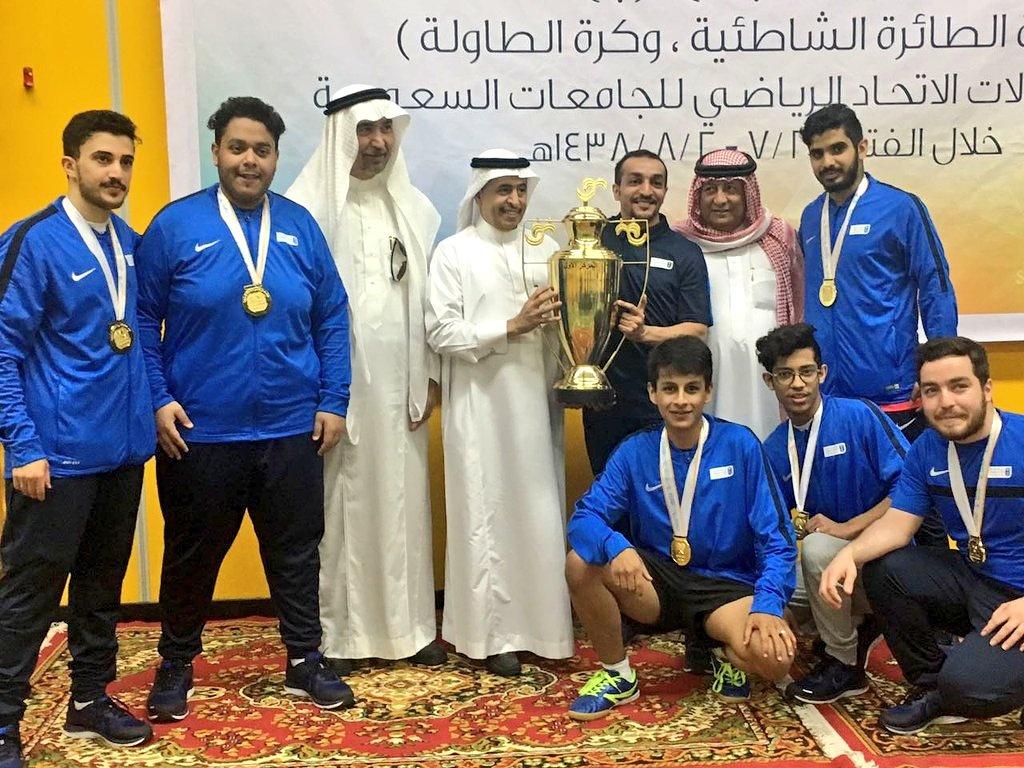 منتخب الجامعة لكرة الطاولة يحقق المركز الأول في منافسة الفرق