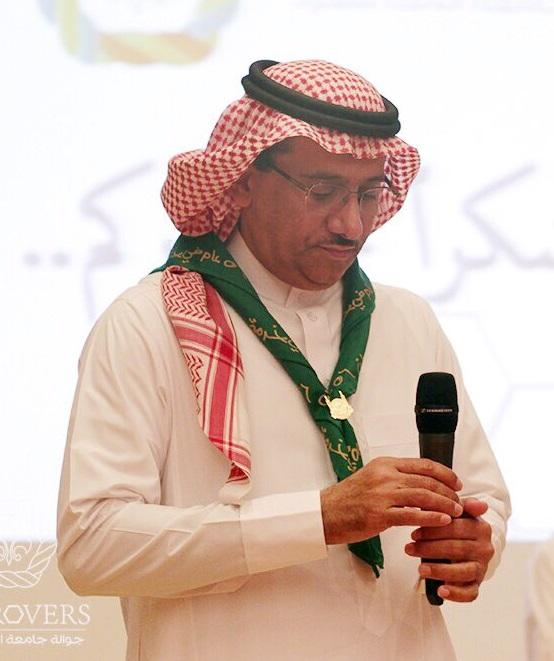 معالي مدير الجامعة يحضر الحفل التكريمي السنوي للجوالة