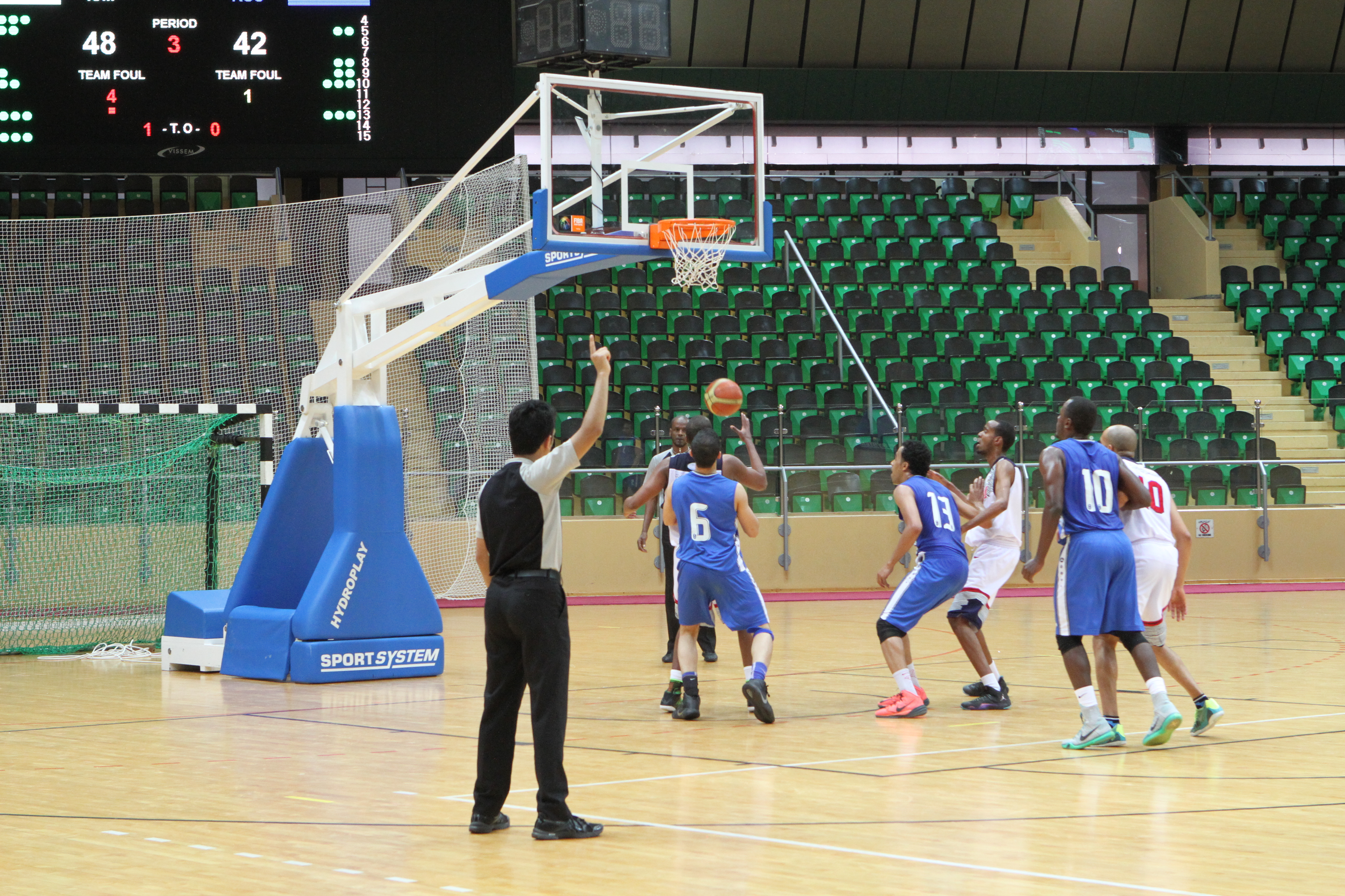 منتخب السلة يستهل المشوار