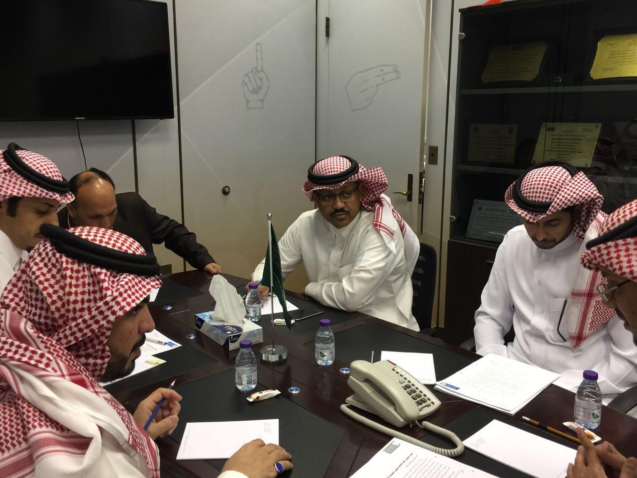 عقد الاجتماع الأول للجنة التنفيذية لبرنامج التعليم العالي للطلاب الصم وضعاف السمع