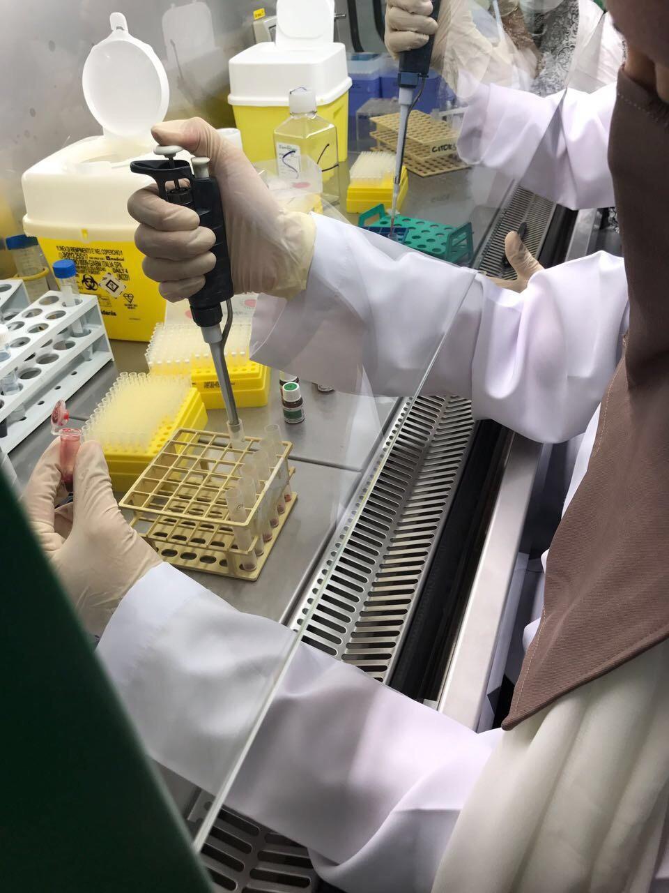 التدريب الصيفي للطالبات بكراسي البحث بكلية العلوم  1438هـ/2017م