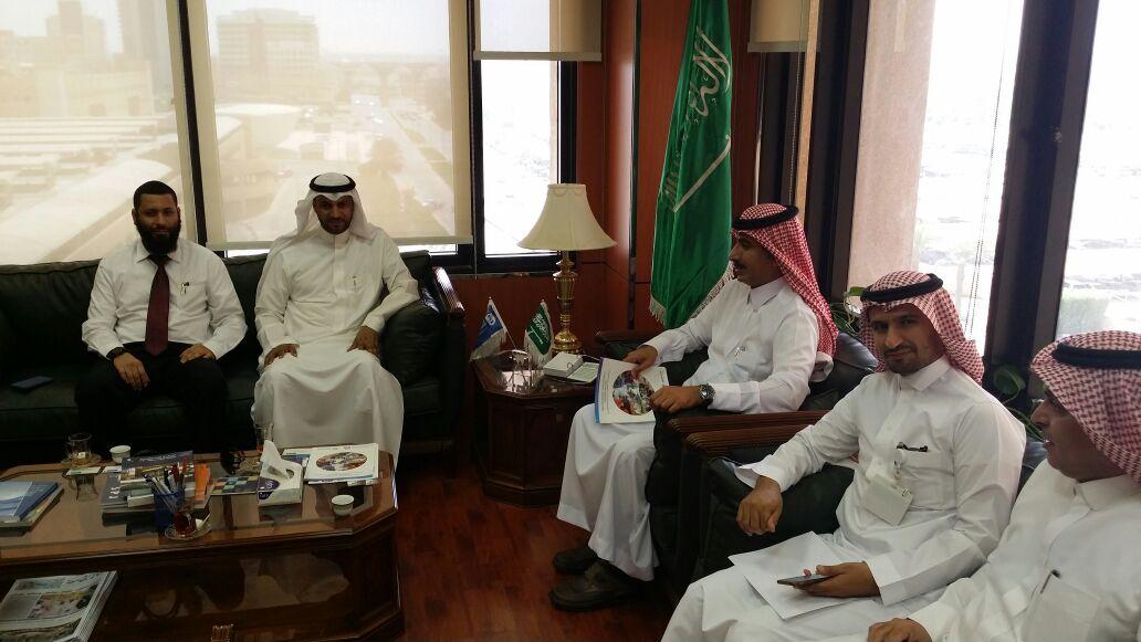 مركز الاعتماد الخليجي يناقش التعاون مع عمادة التطوير والجودة
