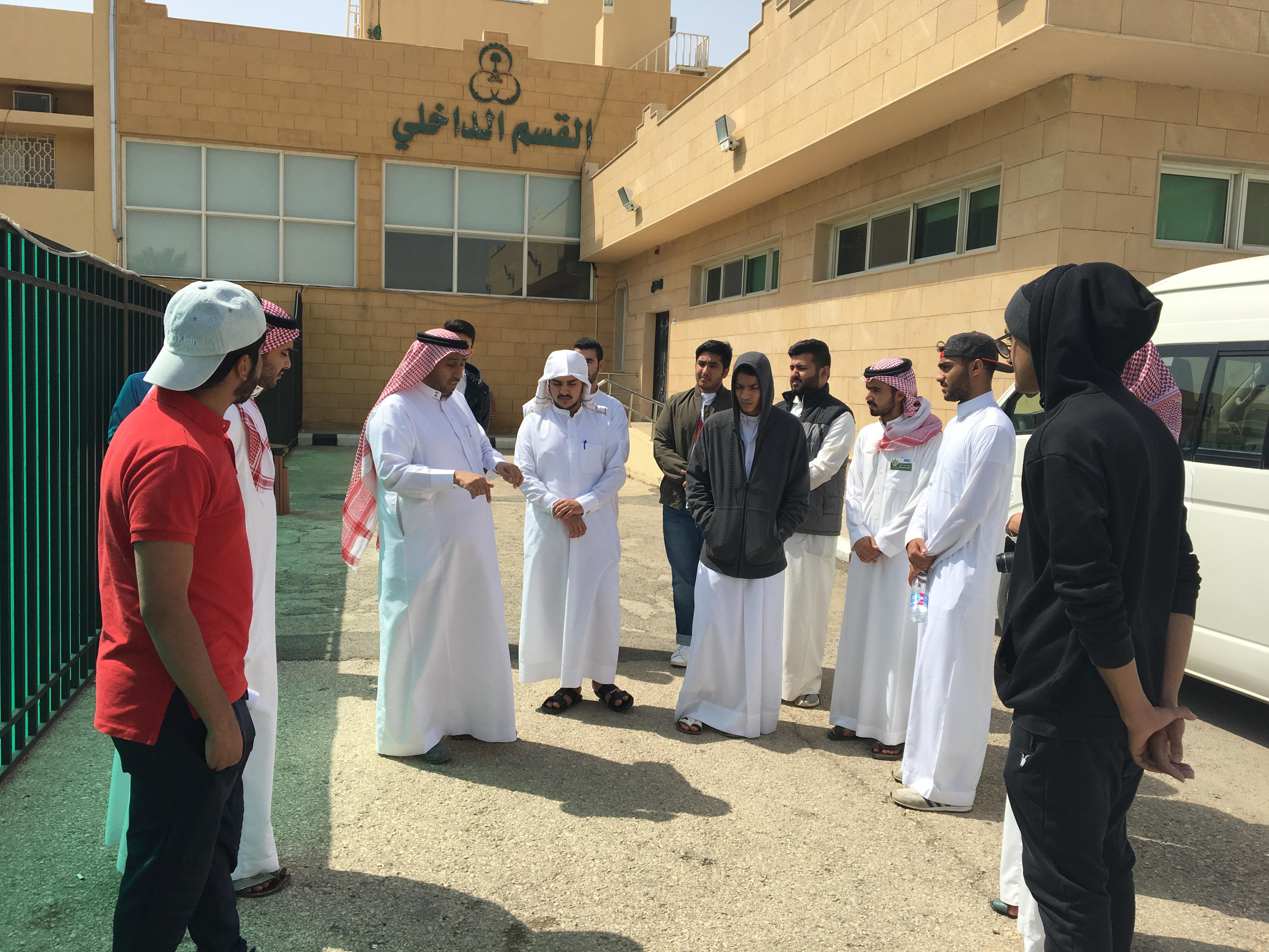 زيارة طلاب الأولى المشتركة لمركز التأهيل الشامل بالدرعية