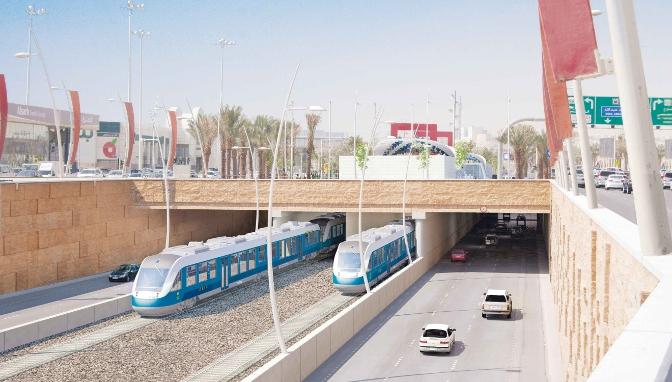 محاضرات عن مترو الرياض بكلية الهندسة